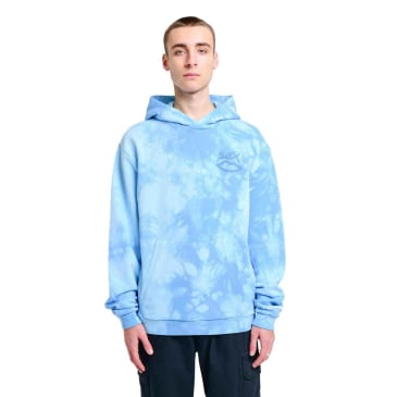 Sex Skateboards Subtle Tie Dye Hood - Blue
