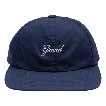 Grand Collection Script Hat Navy