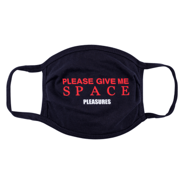 Pleasures Space Face Mask - Black