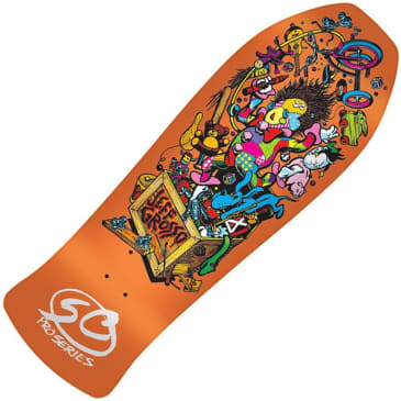 Santa Cruz Skateboards - Jeff Grosso Toybox Reissue Deck