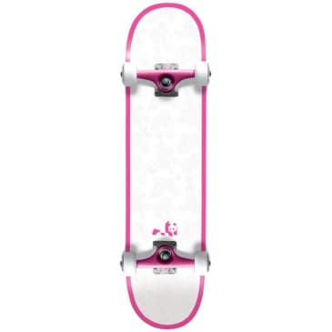 "Enjoi Skateboards - 8.0"" Melrose Resin Premium Complete Skateboard - Pink"