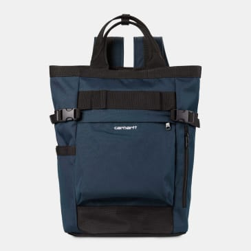 Carhartt WIP - Payton Carrier Backpack - Admiral / Black / White