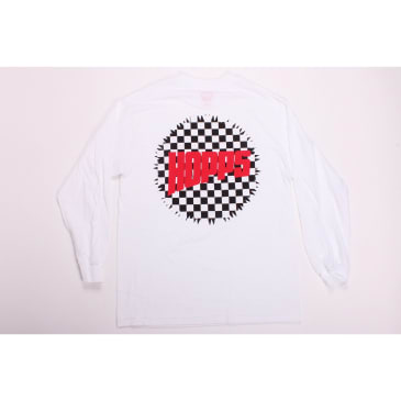 Hopps Tee LS Checkered White
