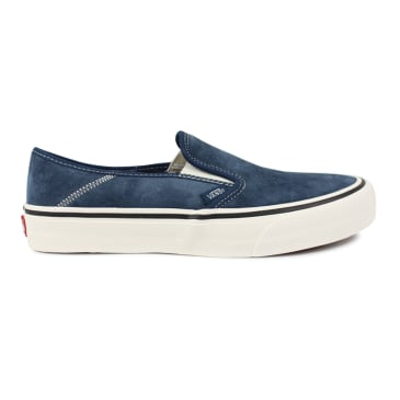 Vans Slip On SF Suede True Navy Checkerboard