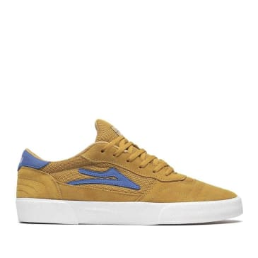 Lakai Cambridge Suede Skate Shoes - Gold
