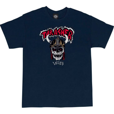 Thrasher - Lotties SS Navy Large