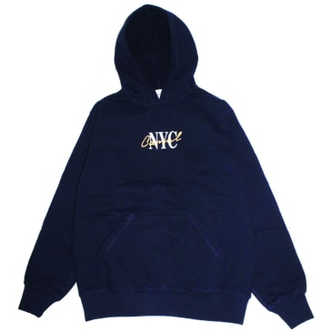 Canal New York Lipstick Hoodie - Midnight Navy