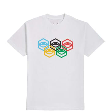 Jet Lag Brothers Olympia T-Shirt - White