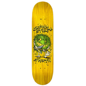 Anti Hero Grimple Stix Evan Smith Family Band Skateboard Deck - 8.5