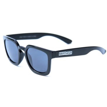 Happy Hour Wolf Pup Sunglasses Gloss Black