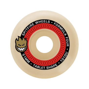 Spitfire F4 101a Tablets 53mm Natural/Red