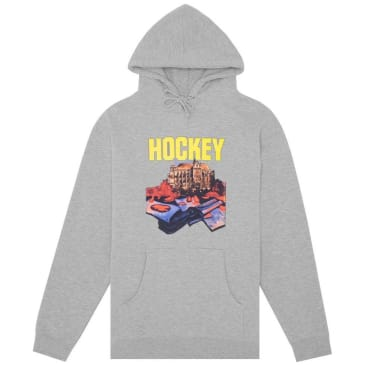 Hockey St. Kev Hoodie - Hether Grey