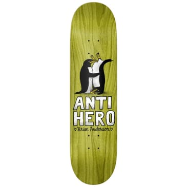 "Antihero Skateboards - Brian Anderson Only for Lovers 2 Deck 8.18"" Wide"