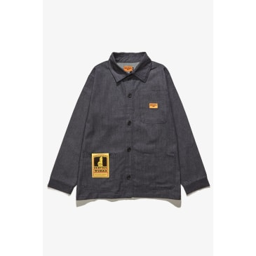Service Works - Bakers Work Jacket - Denim Herringbone