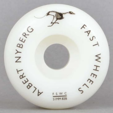 Fast Wheels - Fast Skate Wheel Co Albert Nyberg Pro AX Skateboard Wheels | 53mm
