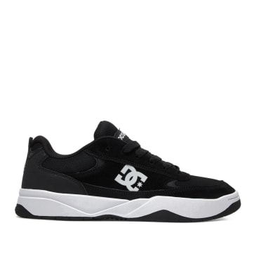 DC Penza Skate Shoes - Black / White