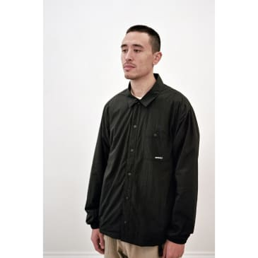 Nylon-Fleece Coaches Shirts Black