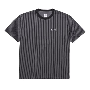 Polar Vertical Stripe Tee - Black