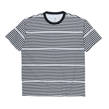 Polar Stripe Logo Tee - Black