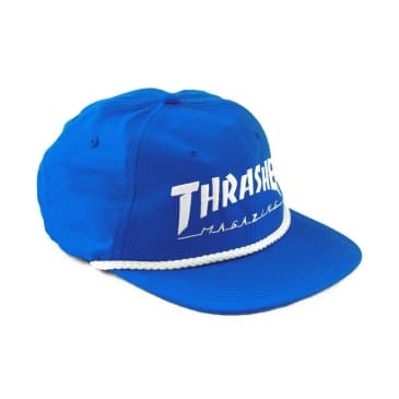 Rope Snapback in Blue/White by Thrasher