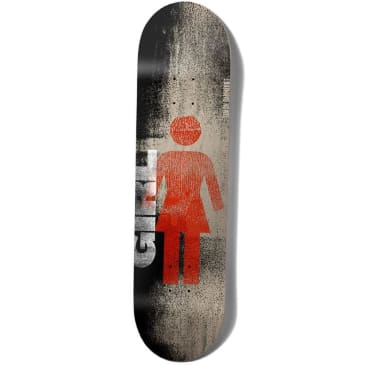 Girl Skateboards Simon Bannerot Roller OG Skateboard Deck - 8.00