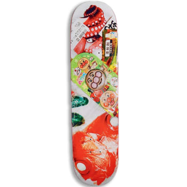Numbers Teixeira Edition 6 Series 2 Skateboard Deck - 8""
