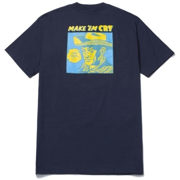 HUF Make Em Cry T-Shirt - French Navy