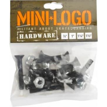 "Mini Logo Black Hardware 7/8"" Phillips"