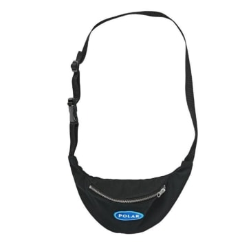 Polar Skate Co. - Station Logo Hip Bag - Black