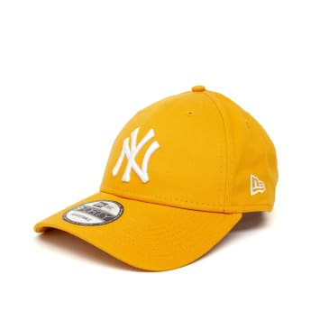 New Era League Essential New York Yankees 9FORTY Cap - Deep Yellow