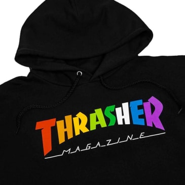 Thrasher Rainbow Mag Hooded Sweatshirt
