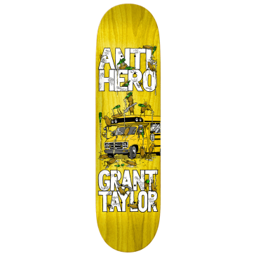 "Anti Hero Skateboards - 8.06"" Taylor Maka Bus Deck - Various Wood Stains"