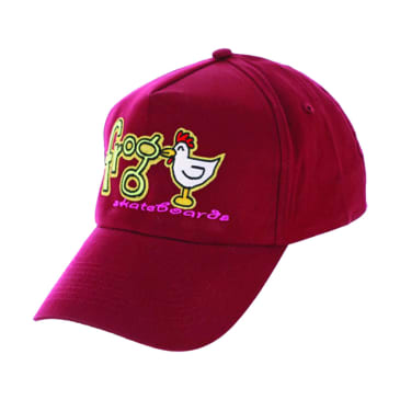 Frog Skateboards - Lucky Chicken Hat - Red