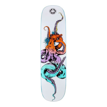 Welcome Skateboards Seahorse 2 on Amulet (White/Prism) - 8.125