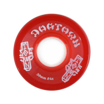 Dogtown Mini Cruiser Wheels Transparent Red - 59mm