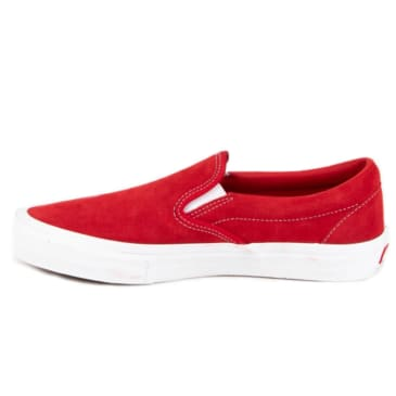 Vans Slip-On Pro - Red/White