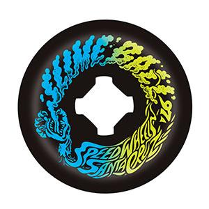 Santa Cruz Vomit Mini Wheels Black Slime Balls 97a 54mm