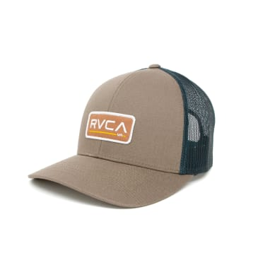 RVCA Ticket Trucker III Cap - Aloe