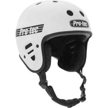 Pro-Tec Full Cut Helmet (Gloss White)
