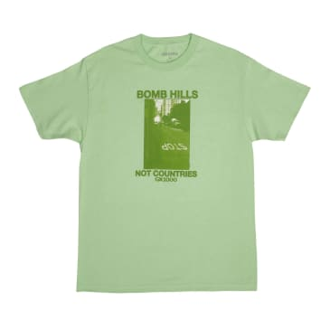 GX1000 Bomb Hills Not Countries T-Shirt - Mint