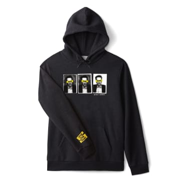 Brixton x Strummer Know Your Rights Hoodie - Black