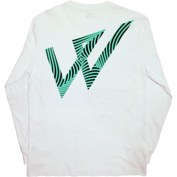 Wayward Skateboards Trip Ooot Long Sleeve T-Shirt - White