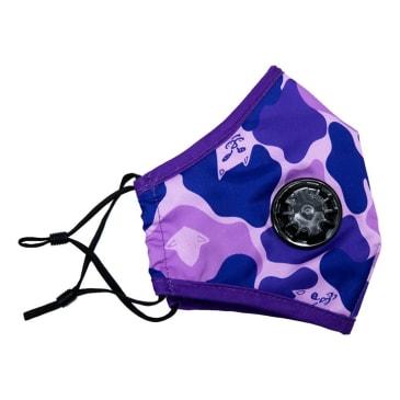 Rip N Dip - Purple Camo Ventilated Face Mask - Purple Camo