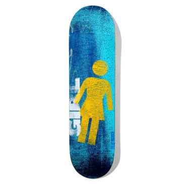 Girl Skateboards Roller OG Deck Pacheco 8.375