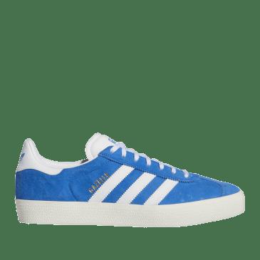 adidas Skateboarding Gazelle ADV Shoes - Blue Bird / Ftwr White / Chalk White