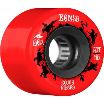 Bones Rough Riders Wranglers 80A ATF 56mm Red Wheels