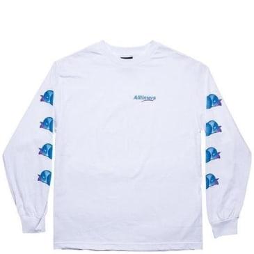 Alltimers Peachy Long Sleeve T-Shirt - White
