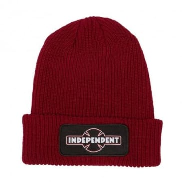 Independent Dual Pineline O.G.B.C. Beanie - Red