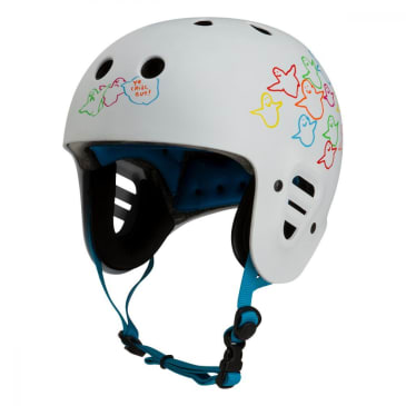 Pro-Tec Full Cut Cert Gonz Animal Bird Helmet - White/Multi