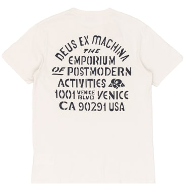 Deus Ex Machina Yj Venice T-Shirt - White Chalk
